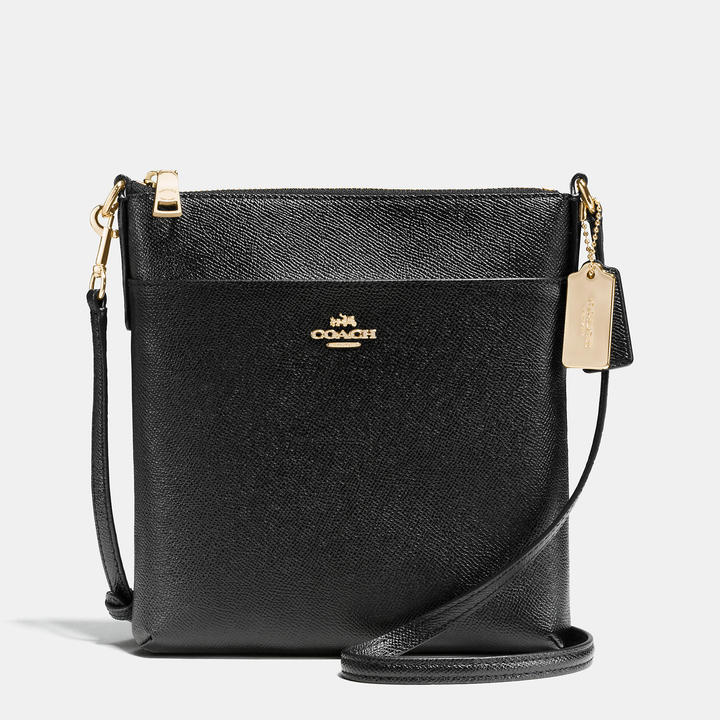 Coach   COACH Coach Courier Crossbody In Crossgrain Leather