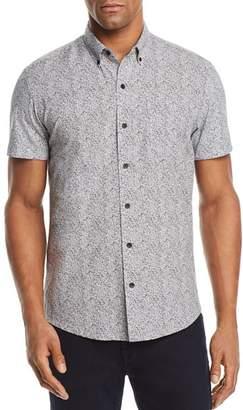 WRK Reworked Fluid Dot Regular Fit Button-Down Shirt