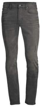 John Varvatos Distressed Stretch Skinny Jeans