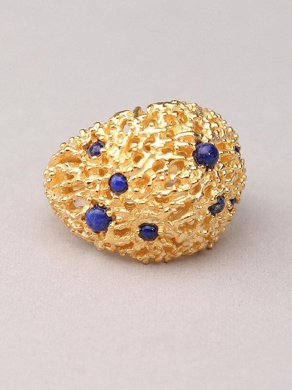 Alexis Bittar Vermeil Coral Ring