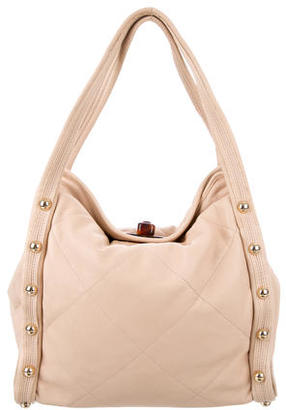 Lanvin Quilted Jaisal Tote $425 thestylecure.com