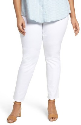 Plus Size Women's Foxcroft Nina Slimming Pull-On Legging Jeans $79 thestylecure.com