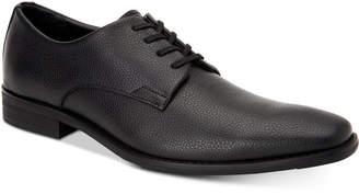 Calvin Klein Men's Ramses Tumbled Leather Oxfords Men's Shoes