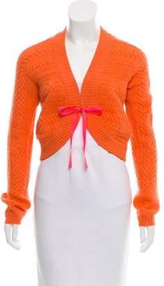 Brunello Cucinelli Cable Knit Crop Cardigan