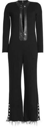 Calvin Klein Collection Wool-blend Jumpsuit