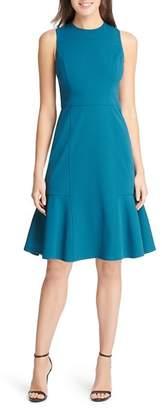 Eliza J Flounced-Hem Dress