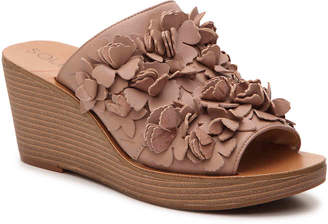 Sole Society Poppie Wedge Sandal - Women's