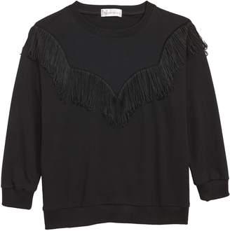Cotton Emporium Western Fringe Sweatshirt
