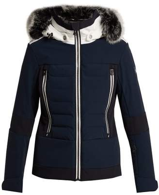 Toni Sailer - Manou Quilted Ski Jacket - Womens - Dark Navy