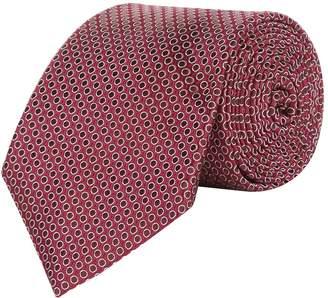 Canali Circle Silk Tie