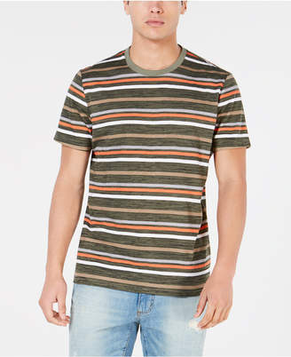 American Rag Men Striped Textured T-Shirt