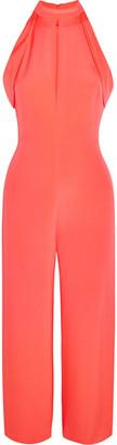 Cushnie et Ochs - Lauren Cutout Silk Jumpsuit - Pink $1,695 thestylecure.com