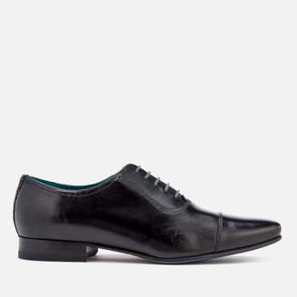 Ted Baker Men's Karney Leather Toe Cap Oxford Shoes - Black