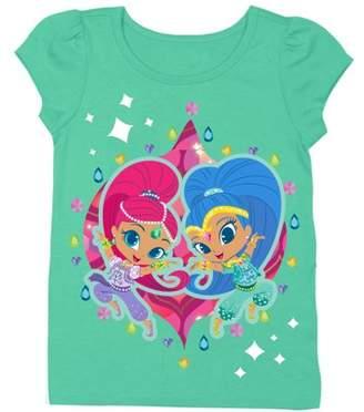 Shimmer and Shine Shimmer & Shine Short Sleeve Puff Tee (Toddler Girls)