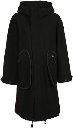Y-3 Y 3 Oversized Hooded Coat