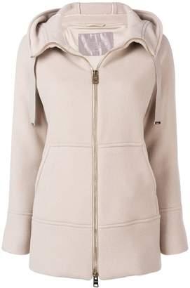 Herno hooded long jacket