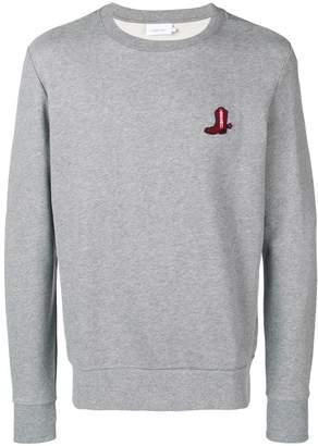 Calvin Klein boot patch sweatshirt