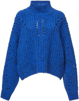 Isabel Marant Jilly Arty Chunky-Knit Wool Sweater