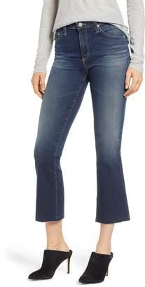 AG Jeans Jodi Raw Hem Crop Flare Jeans
