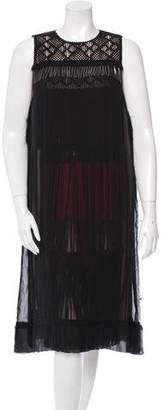 Bottega Veneta Sheer Overlay Dress w/ Tags