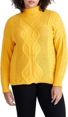 Rachel Roy Iman Cable Sweater