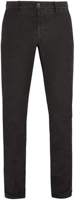 Incotex Slim-fit cotton blend chino trousers