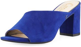 Sam Edelman Suzanna Faux-Suede Slide Sandals