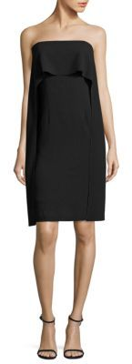 Trina Turk Genius Strapless Popover Cape Dress $268 thestylecure.com