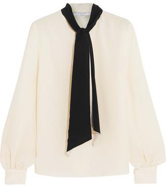 Lanvin - Silk Crepe De Chine Blouse - Ivory $1,490 thestylecure.com