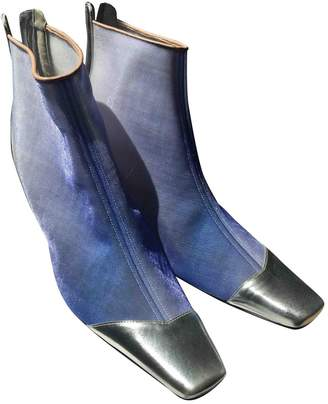 Loewe Cloth Ankle Boots