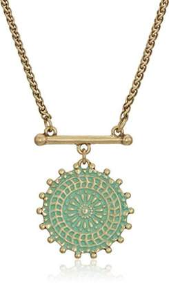 Lucky Brand Women's Medallion Necklace