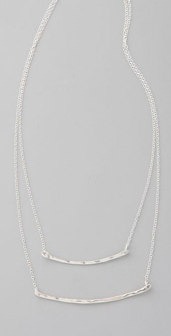 Gorjana Taner Two Bar Necklace