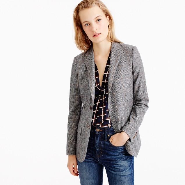 J.CrewCollection Ludlow blazer in glen plaid wool