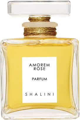 Shalini Amorem Rose Cubique Glass Bottle with Glass Stopper, 1.7 oz./ 50 mL