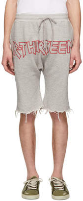 R 13 Grey Logo Shorts