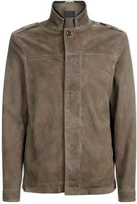 AllSaints Harbour Suede Jacket