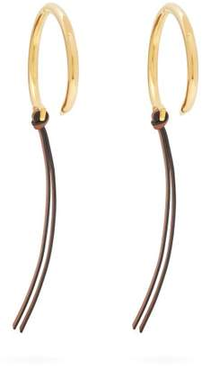 Loewe - Nail Hoop Earrings - Womens - Gold