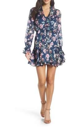 Cooper St Rita Floral Stripe Minidress