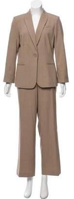 Calvin Klein Structured Tweed Pantsuit