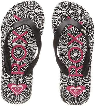 Roxy Girls' Tahiti Vi Flip Flops,12UK Child