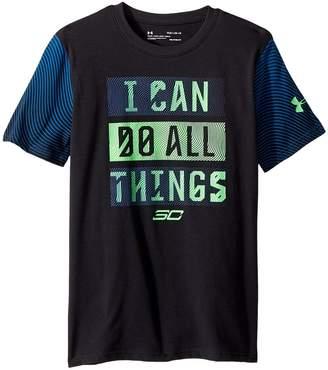Under Armour Kids Steph Curry 30 Icdat Short Sleeve Tee Boy's T Shirt