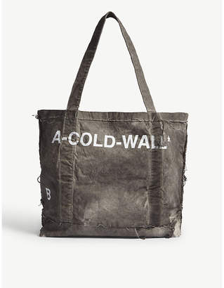 A-Cold-Wall* Grey Cotton Tote Bag