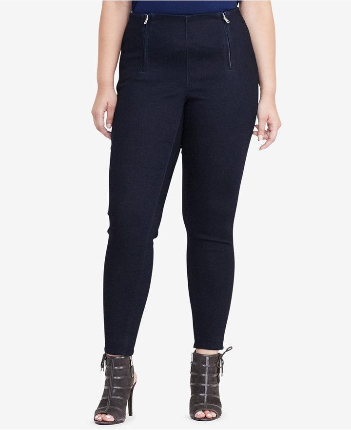 Lauren Ralph LaurenLauren Ralph Lauren Plus Size Stretch Skinny Pants
