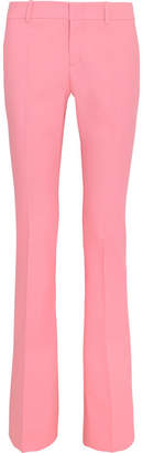 Gucci Stretch-wool Bootcut Pants - Pastel pink