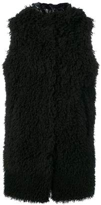 Herno faux shearling gilet