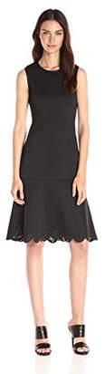Clover Canyon Sportswear Women's Lasered Neoprene Sleeveless Dress