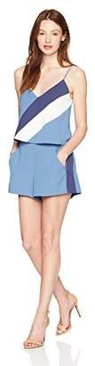 Parker Women's Trenton Combo Sleeveless Short Romper
