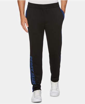 Perry Ellis Men's Regular-Fit Moisture-Wicking Taped Track Pants