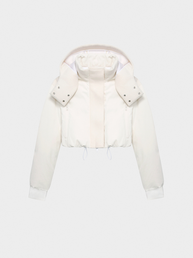 DKNYDKNY Pure Hooded Cropped Coat