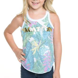 Chaser Youth Girl's Tropical Vacation Tank